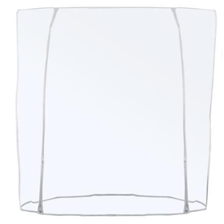 Schutzhülle Abdeckhaube für Kleiderständer 180cm Breite