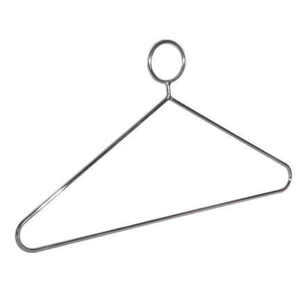 Kleiderbügel geschlossen aus Stahl, Ø = 6 mm für Hotels