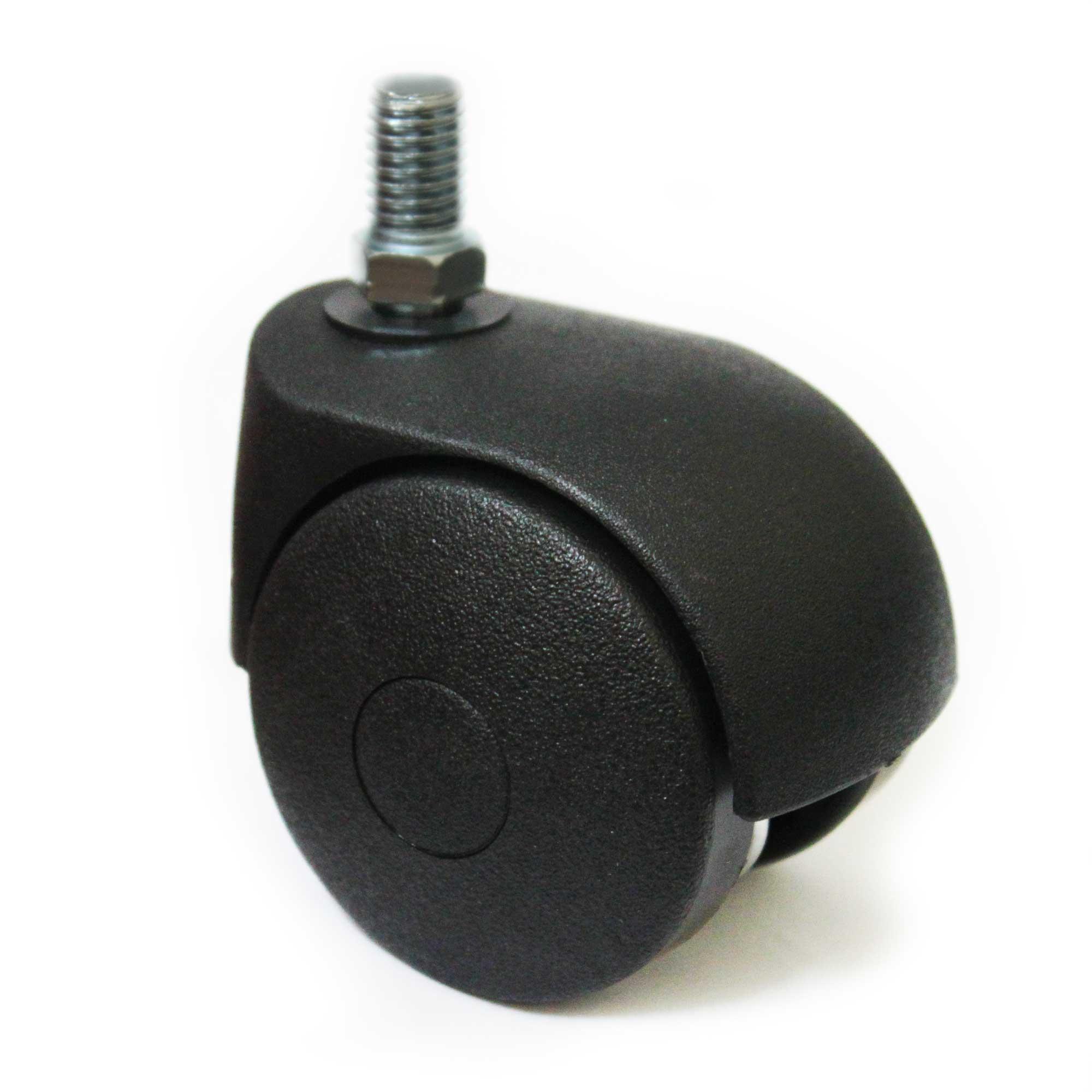 Lenkrolle 50mm, ohne Bremse, M8 Gewinde