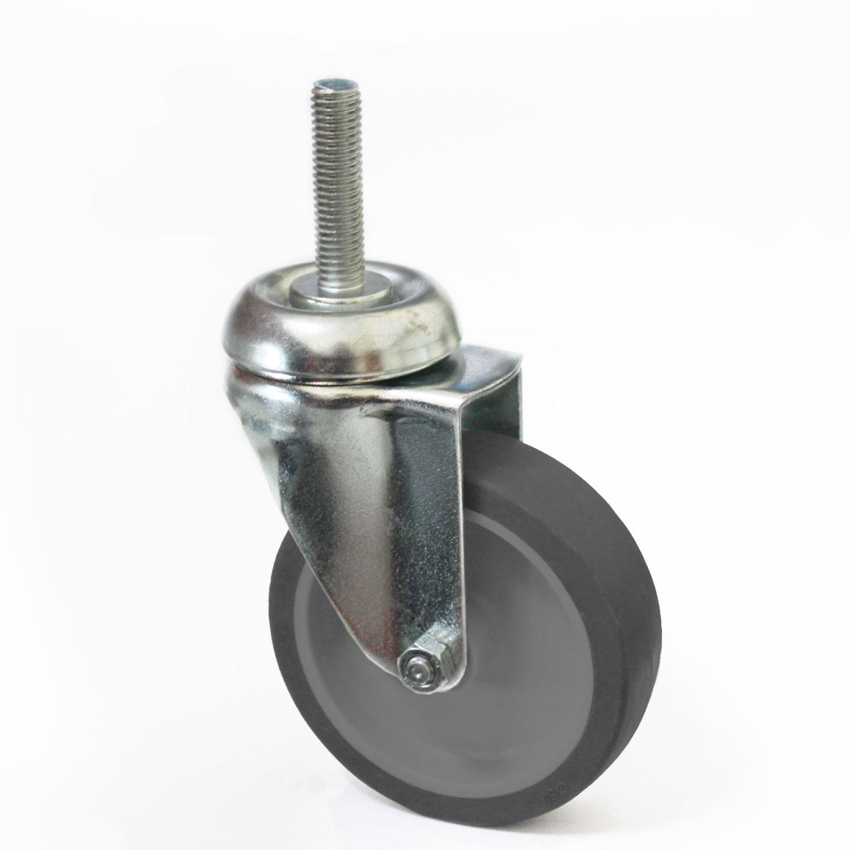 Lenkrolle 80mm, ohne Bremse, Gewinde M10 x 40 mm