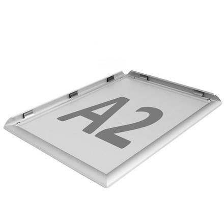 Alurahmen A2 Aluminium Display Alu Klapprahmen