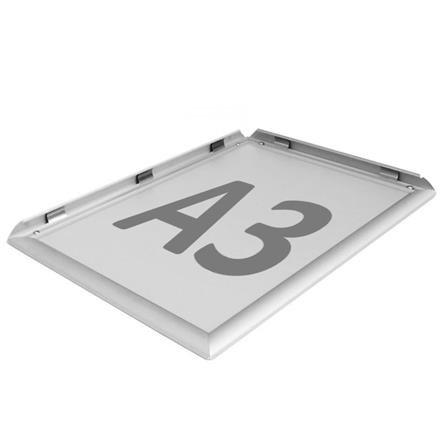 Alurahmen A3 Aluminium Display Alu Klapprahmen