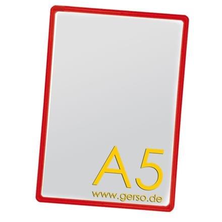 Plakatrahmen A5 rot