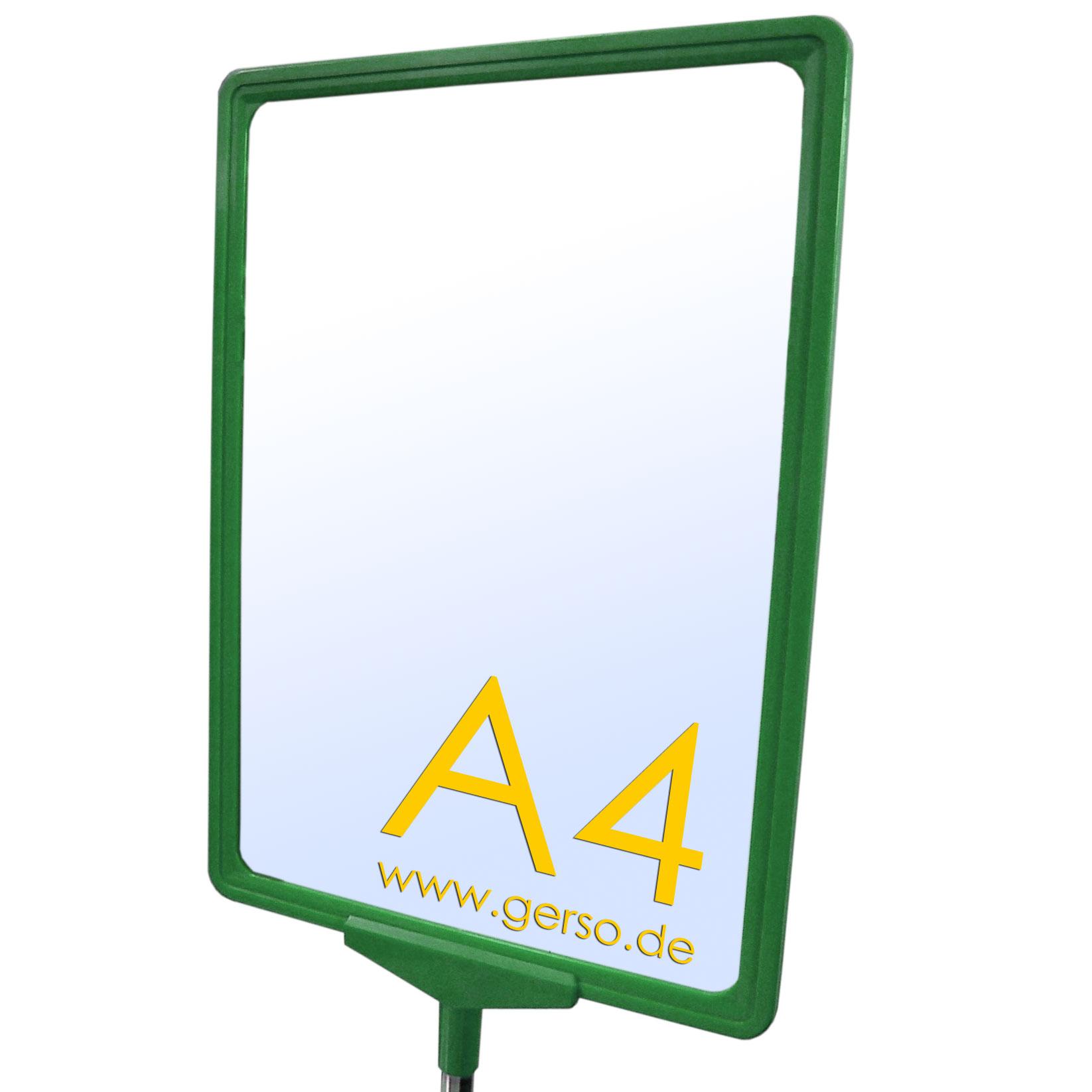 Plakatrahmen im Format A4 Farbe: grün
