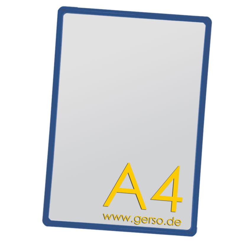 Plakatrahmen A4 blau