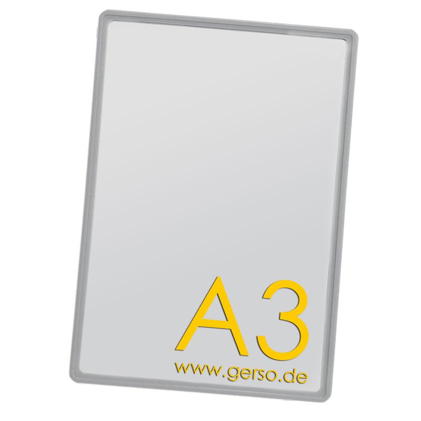 Plakatrahmen A3 grau
