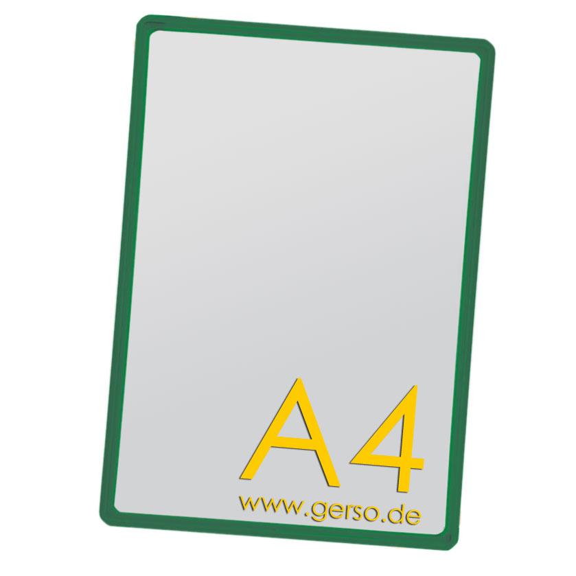 Plakatrahmen A4 grün