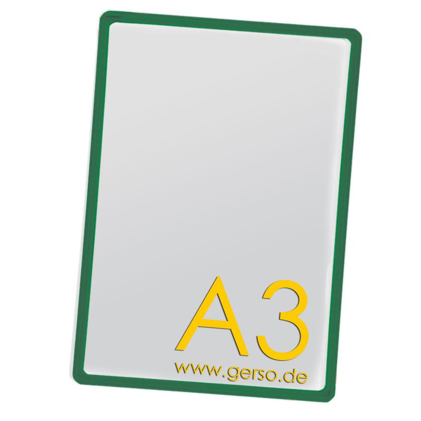 Plakatrahmen A3 grün