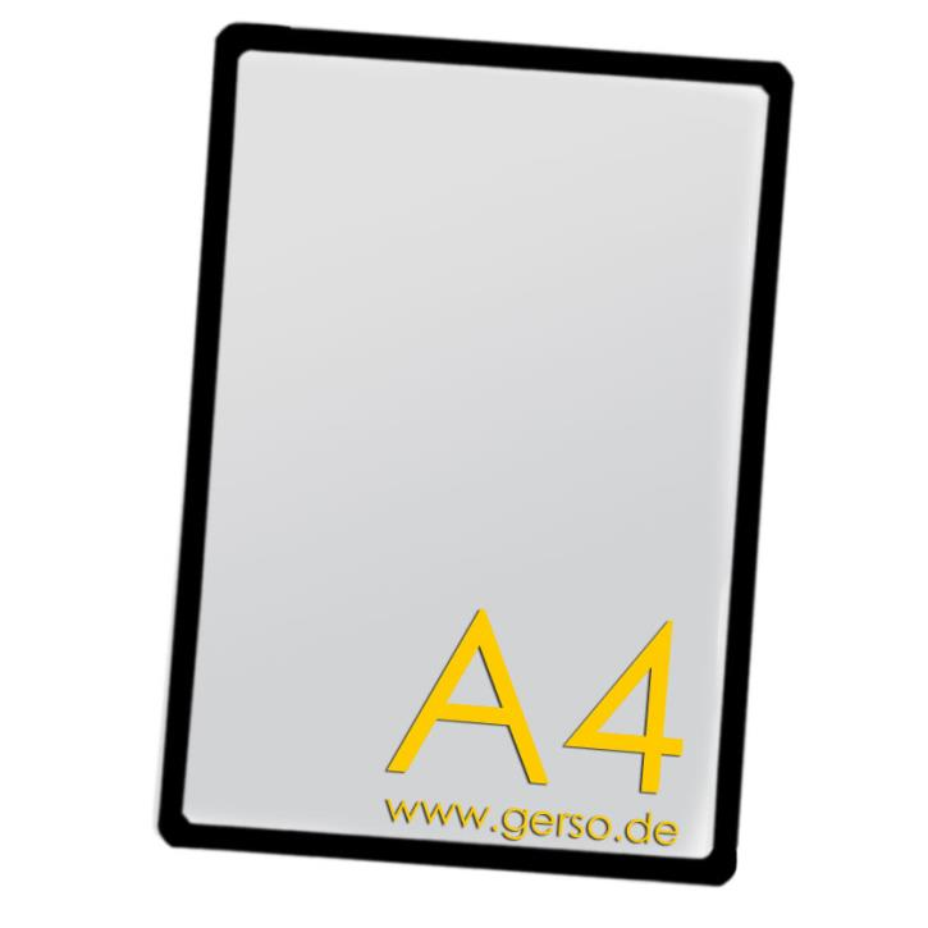 Plakatrahmen A4 schwarz
