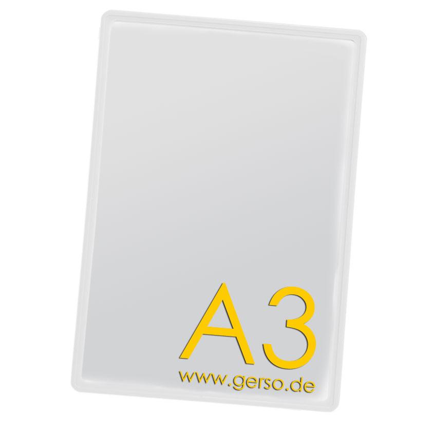 Plakatrahmen A3 transparent