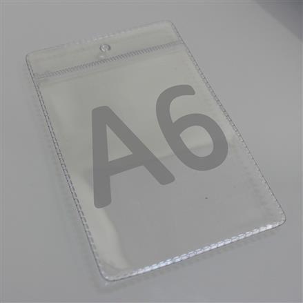 Plakattasche Folientasche aus PVC in A6