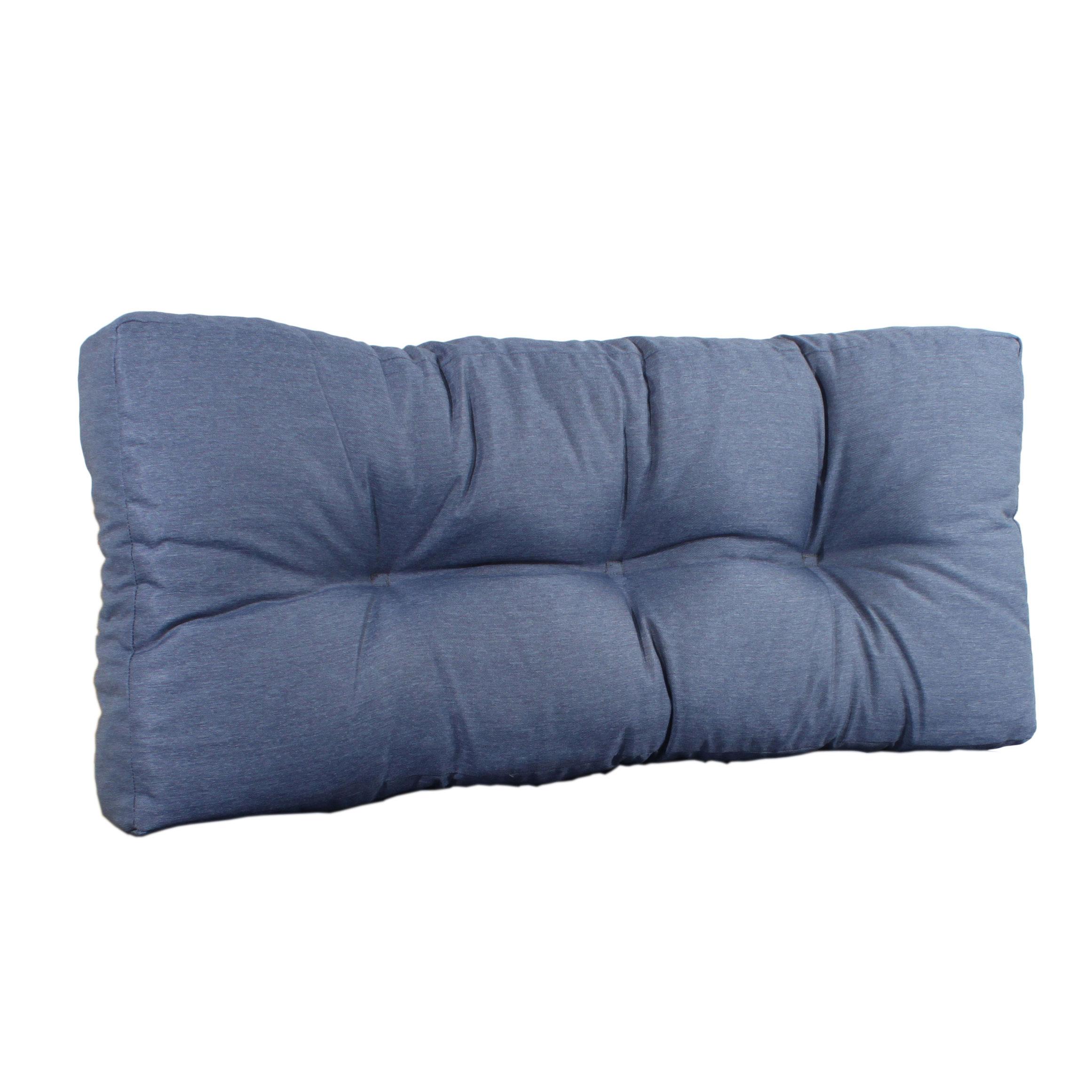 Rückenlehne 50cm für EUR-Paletten blau