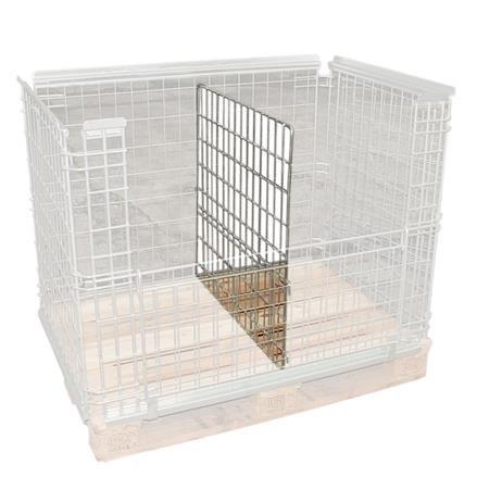 Trenngitter für Gitteraufsatzrahmen 210 500
