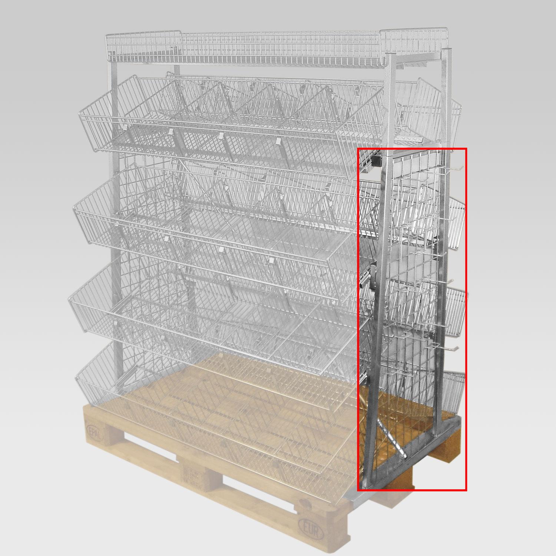 Seitenbehanggitter für Palettenpräsenter 1100x700