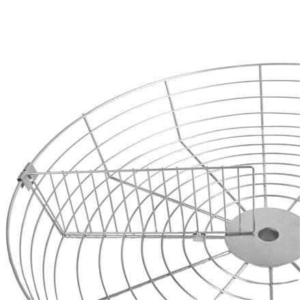 Trenngitter für Rundkorb D=670x120 mm