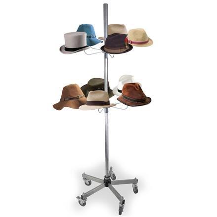 Hutständer für 10 Hüte, Fuß standard