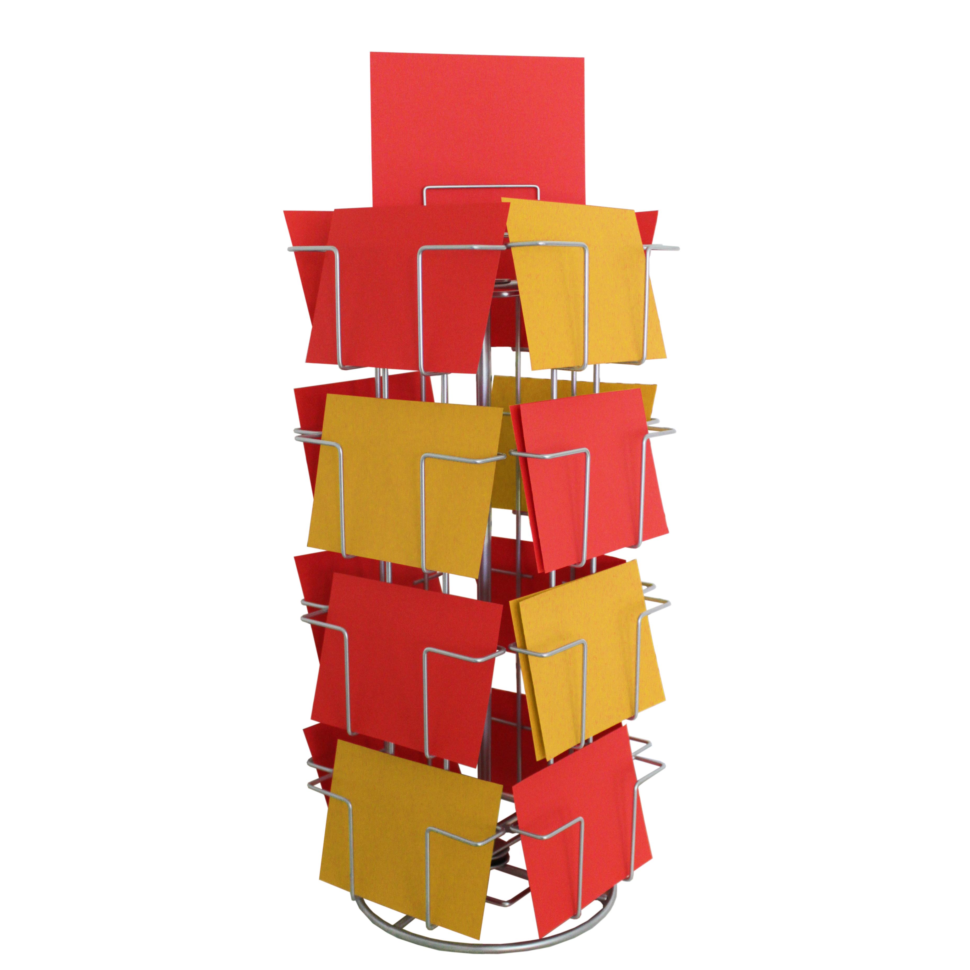 Kartenständer mit 16 Fächern 105 x 150 mm QF