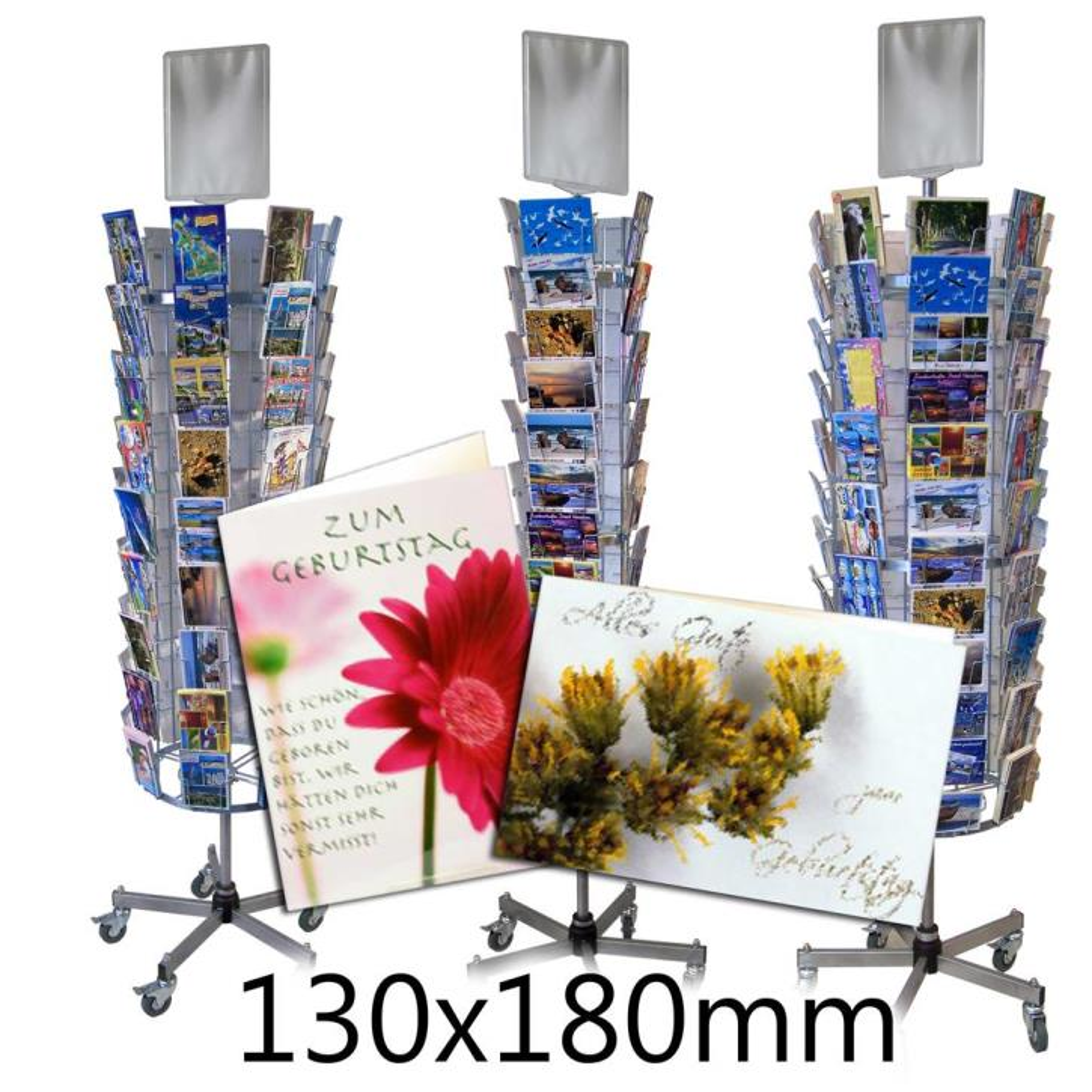 Kartenständer für Grußkarten B6 bis 130x180mm