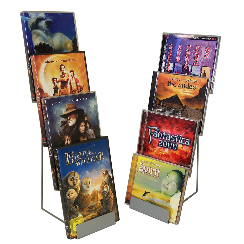 Tischständer für 4 CDs / DVDs