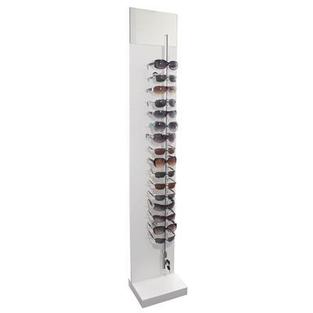 Sonnenbrillenständer, abschließbar, für 16 Brillen