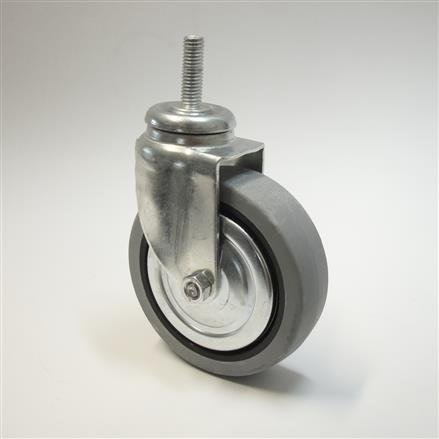 Rolle ohne Bremse, D=75 mm, grau