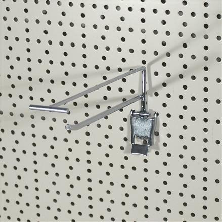 Einzelhaken mit Klappverschluss, L= 200 mm - 200mm 4,8mm | 200mm 4,8mm