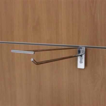 Einfachhaken für Lamellenwand L= 100 D= 4 mm + PT
