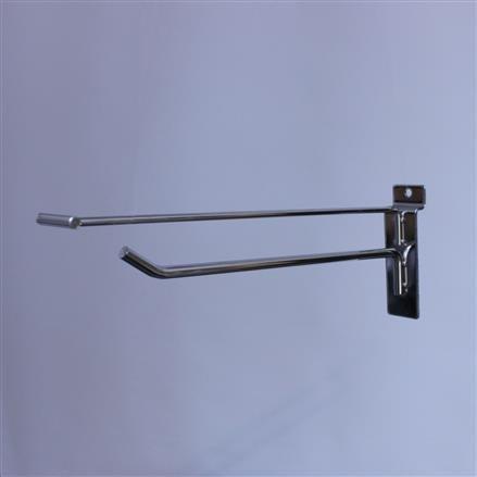 Einfachhaken für Lamellenwand L= 150 D= 4 mm + PT
