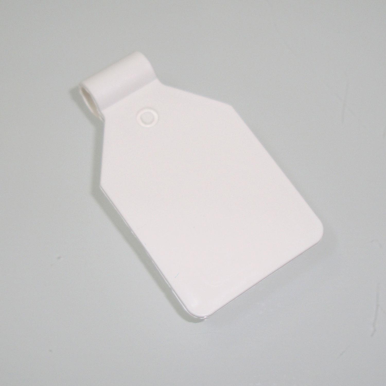 Pendelclip, Etikettenfähnchen für Blisterhaken