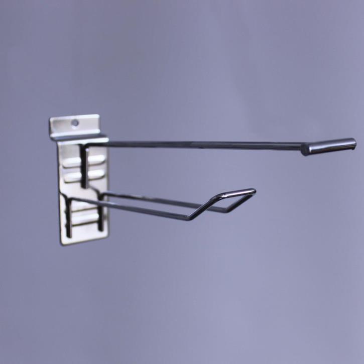Doppelhaken für Lamellenwand L= 150 D= 3mm + PT