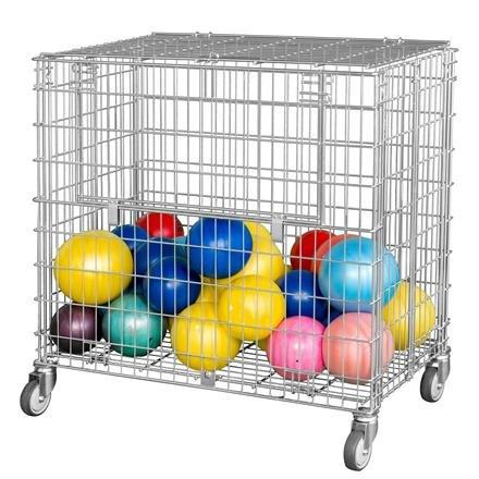Ballwagen, abschließbar, faltbar im Leerzustand