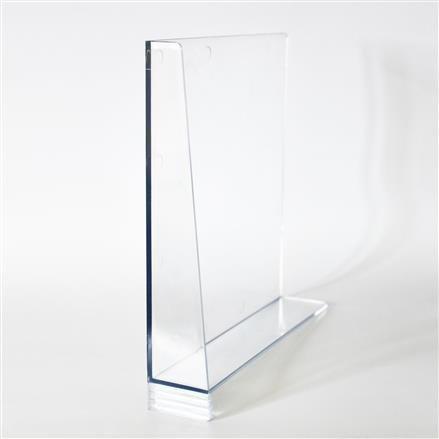 Fachteiler glasklar H20, L20, links