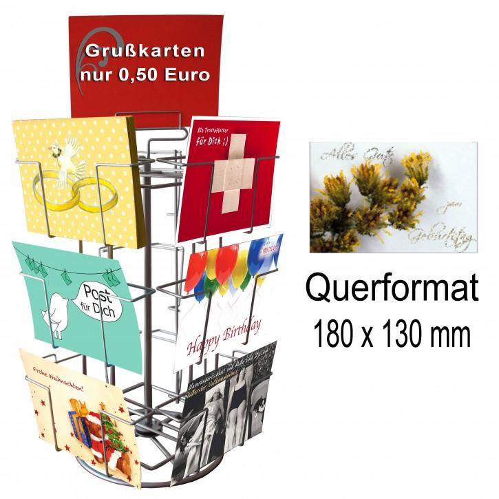 Kartenständer mit 12 Fächern QF 130x180mm