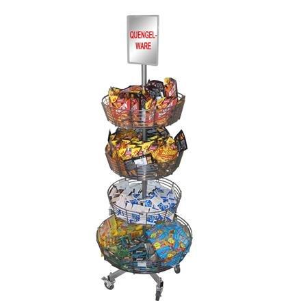 Rundkorbständer mit 4 Körben, Korbständer