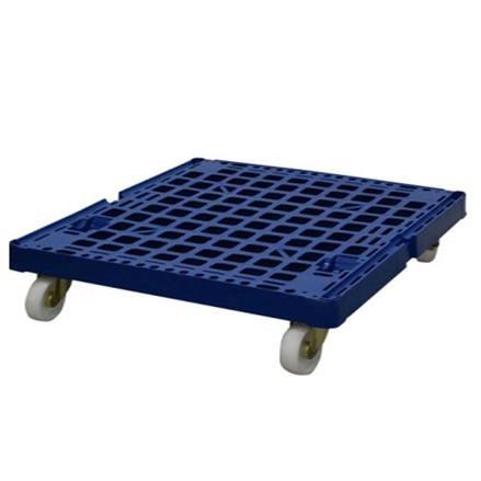 Kunststoffpalette mit Rollen Kunststoffrollplatte