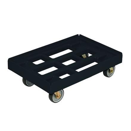 Transportroller 410x610 mm offene Ausführung schwarz