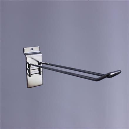 Doppelhaken für Lamellenwand L= 150 D= 3mm