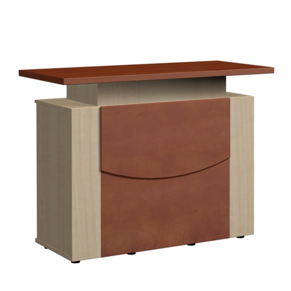 Design Theke Tresen aus Holz 106x138x60cm B