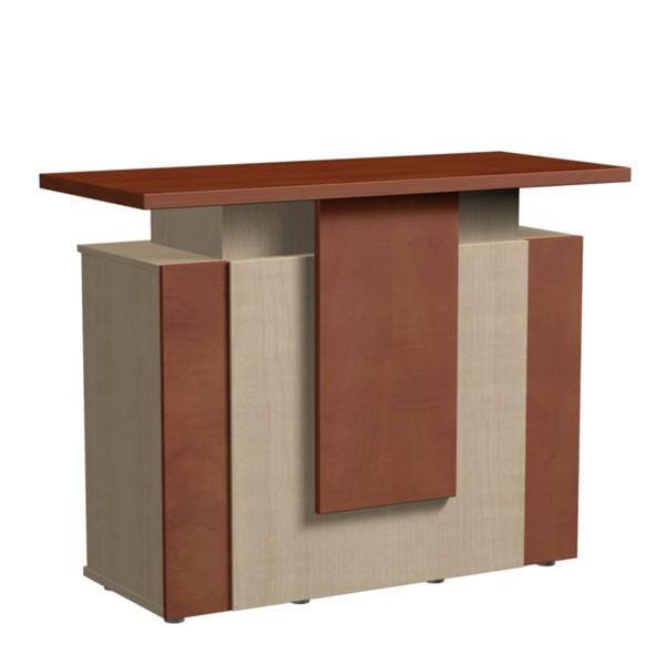 Design Theke Tresen aus Holz 106x138x60cm D