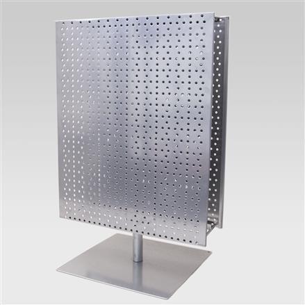 Tischständer mit 2 Lochblechen, H = 600 mm