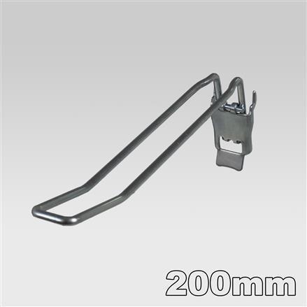 Doppelhaken mit Klappverschluss L= 200mm - 200mm 4,8mm   200mm 4,8mm
