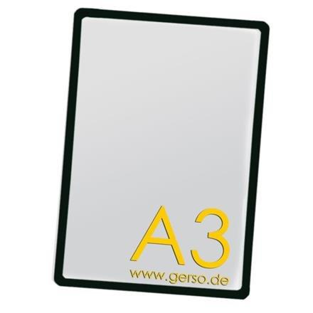 Plakatrahmen A3 schwarz