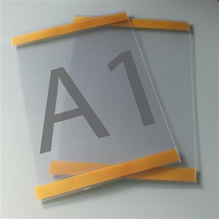 Postertasche A1 mit Klebebändern oben und unten