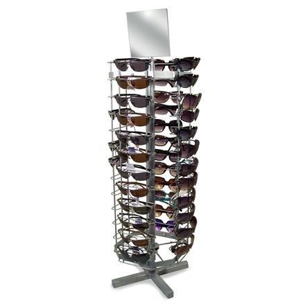 Brillen-Tischständer für 52 Sonnenbrillen
