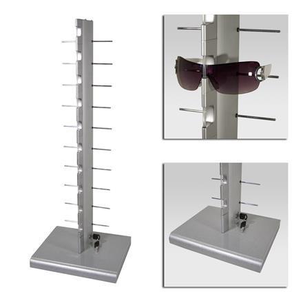 Sonnenbrillenständer für die Theke, abschließbar