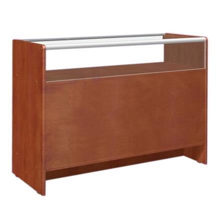 Ladentisch mit Vitrine mit 3 Ebenen 120x50x90cm