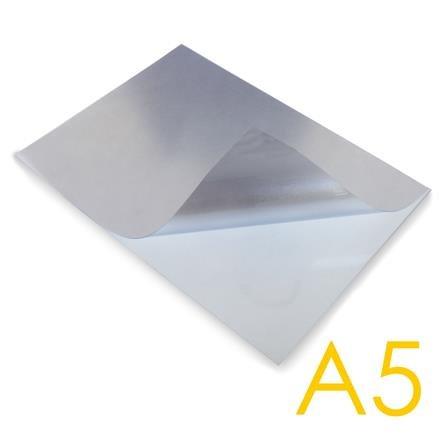 U-Tasche PVC, transp. für Plakatrahmen A5