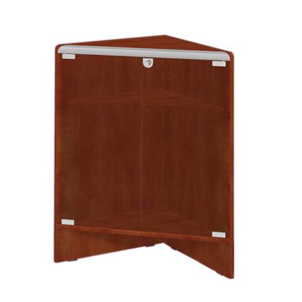 Ladentisch Erweiterung Ecke mit 2 Böden 50x50x90cm