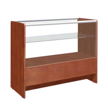 Ladentisch mit Vitrine 2 Ebenen 90x50x90cm