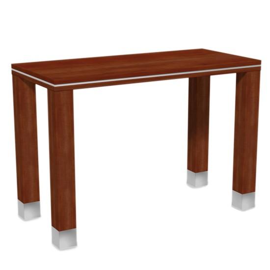 Verkaufstisch aus Holz in Kirsche 130x90x60